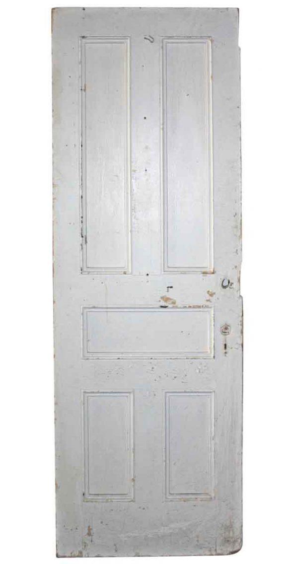 Standard Doors - Antique 5 Pane White Wood Passage Door 83.5 x 29.75