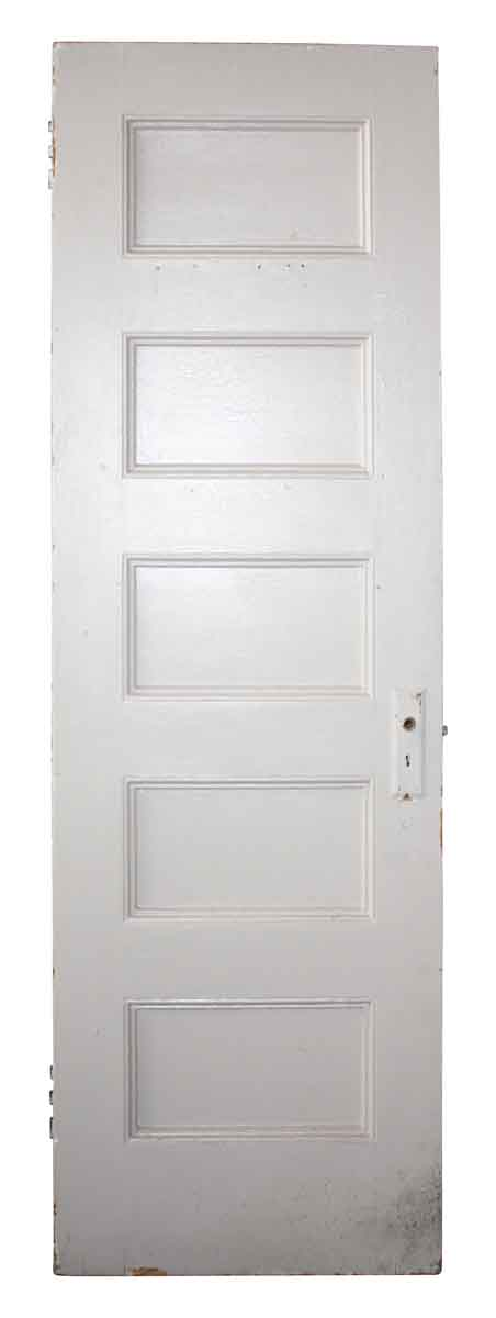 Standard Doors - Antique 5 Pane Wood Passage Door 79.75 x 25.75