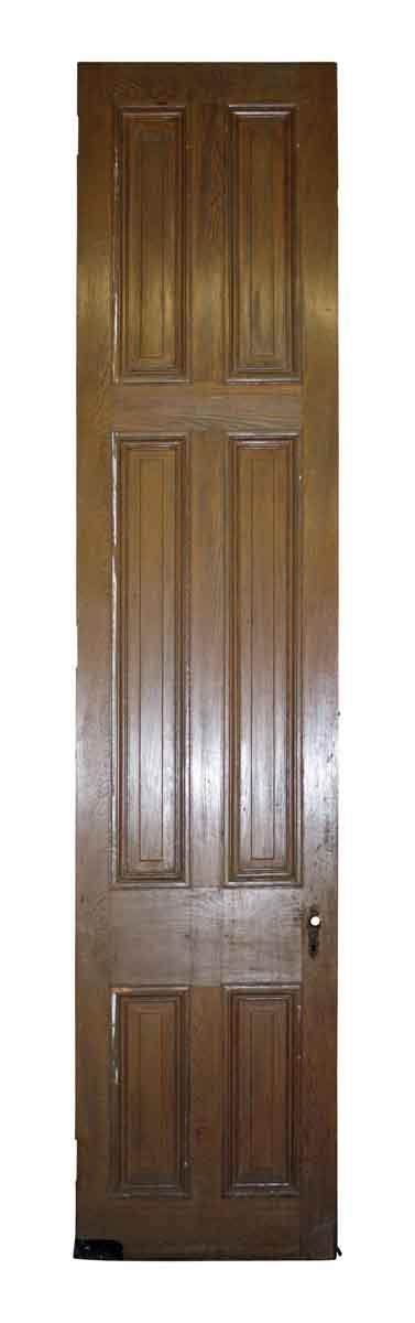 Standard Doors - Antique 6 Pane Wood Passage Door 122.75 x 27.5