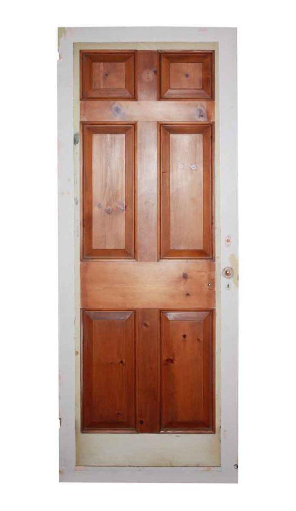 Standard Doors - Antique 6 Pane Wood Passage Door 78.5 x 32