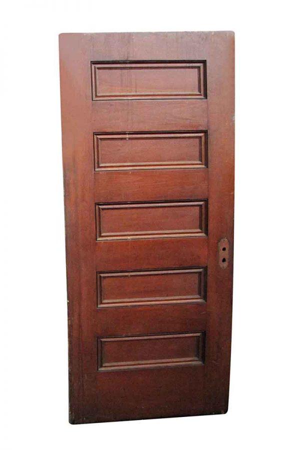 Standard Doors - Vintage 5 Pane Wood Passage Door 77.75 x 34