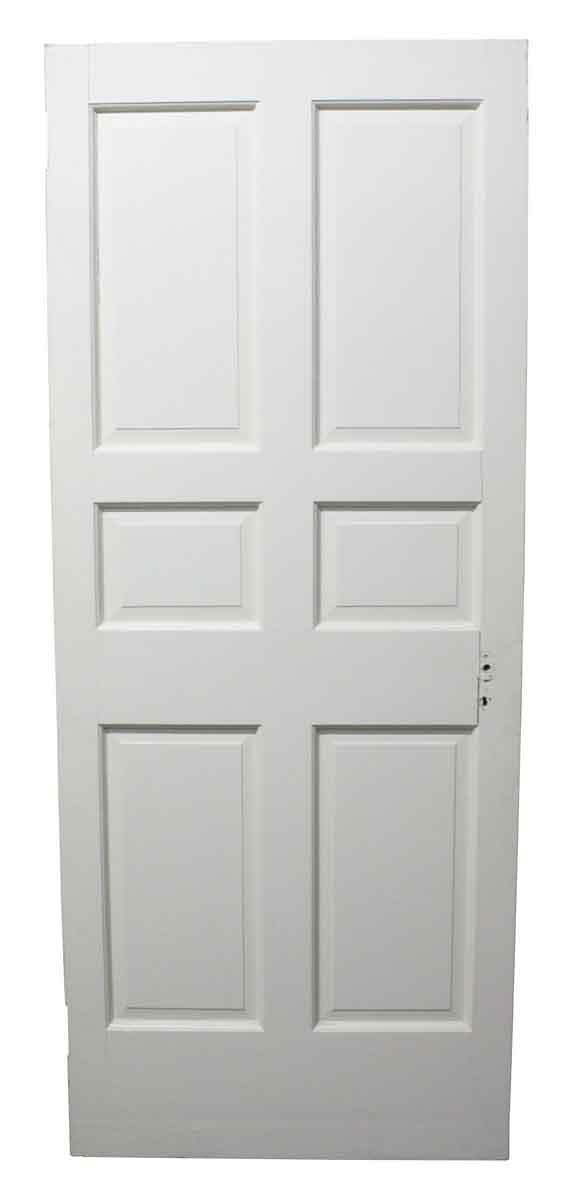 Standard Doors - Vintage 6 Pane White Wood Passage Door 83.5 x 34