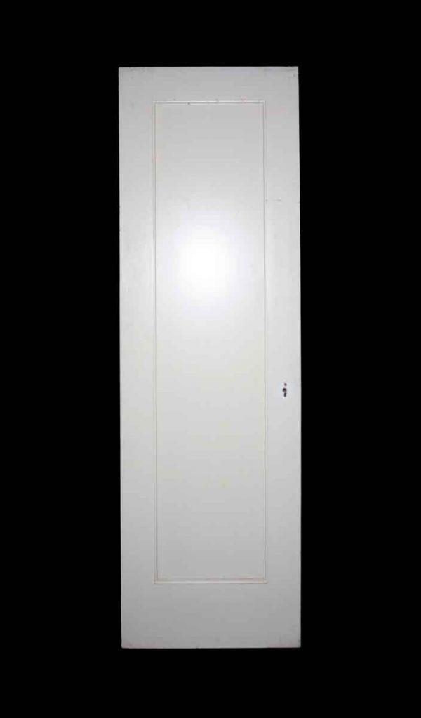 Standard Doors - Vintage Single Pane White Passage Door 84 x 27