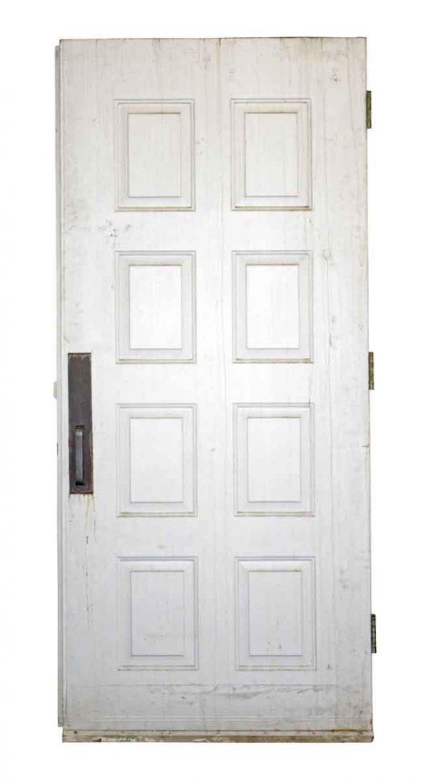 Commercial Doors - Vintage 8 Pane Swinging Metal Door 80.75 x 36.75