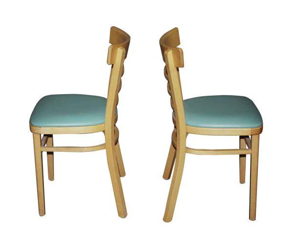 Flea Market - Vintage Slatted Back Pine Dinette Chairs