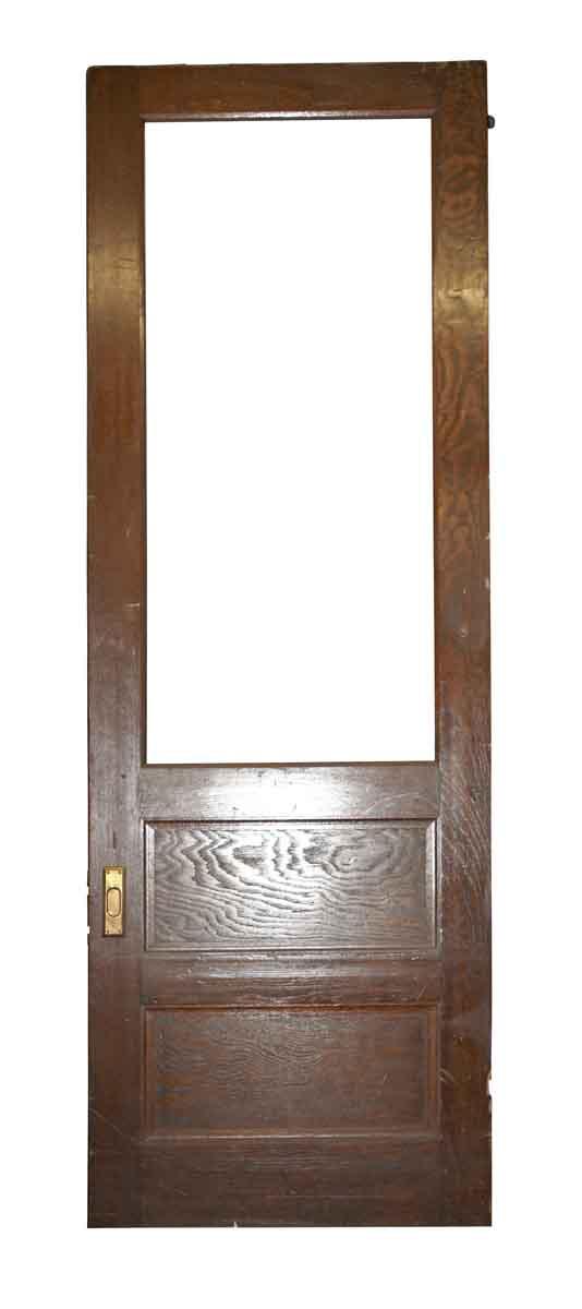 Pocket Doors - Vintage 1 Lite 2 Pane Pocket Door 119.5 x 39