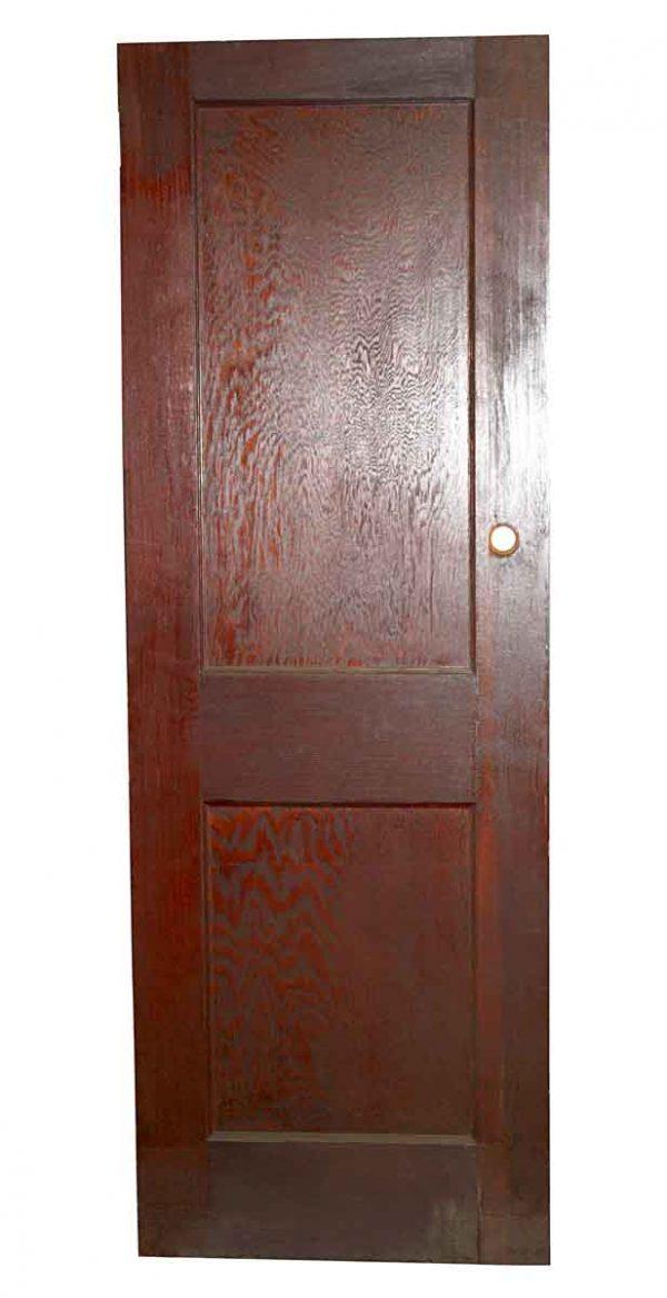 Standard Doors - Antique 2 Pane Wood Privacy Door 87 x 19.75