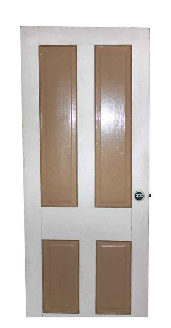 Standard Doors - Antique 4 Pane Wood Passage Door 76.75 x 30