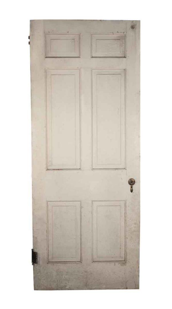 Standard Doors - Antique Wood 6 Pane Passage Door 79.75 x 32