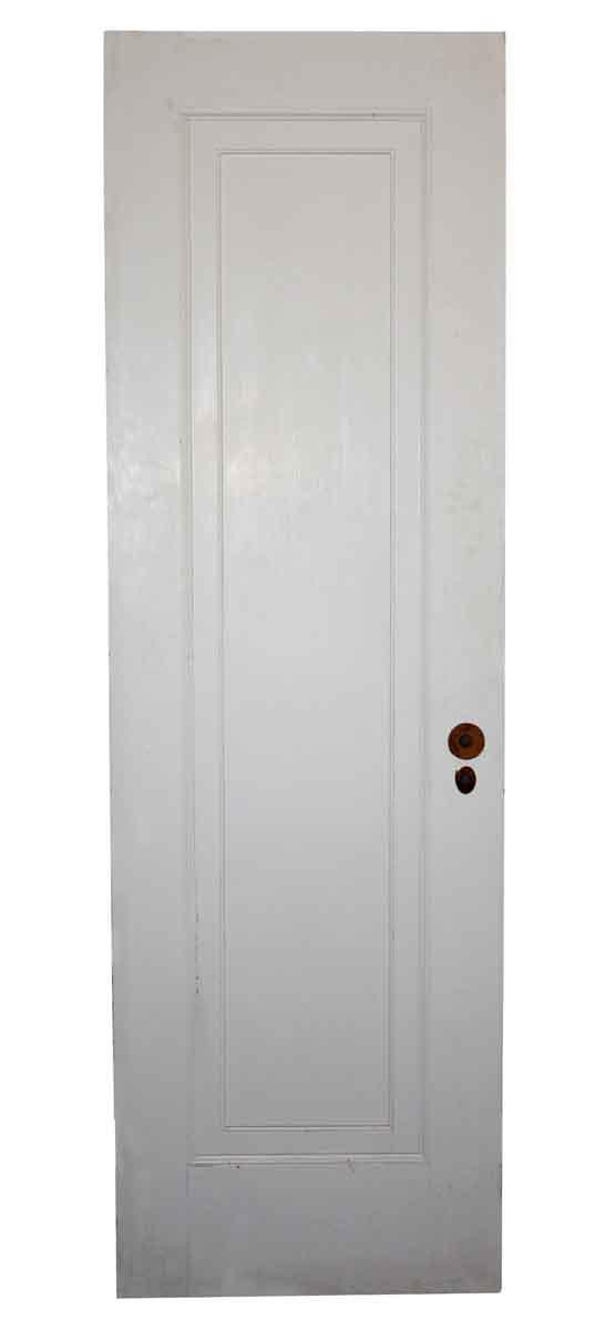 Standard Doors - Vintage Single Pane White Wood Passage Door 77 x 24