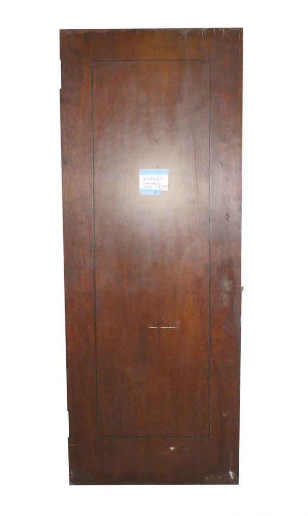 Standard Doors - Vintage Single Pane Wood Passage Door 83.5 x 27.5
