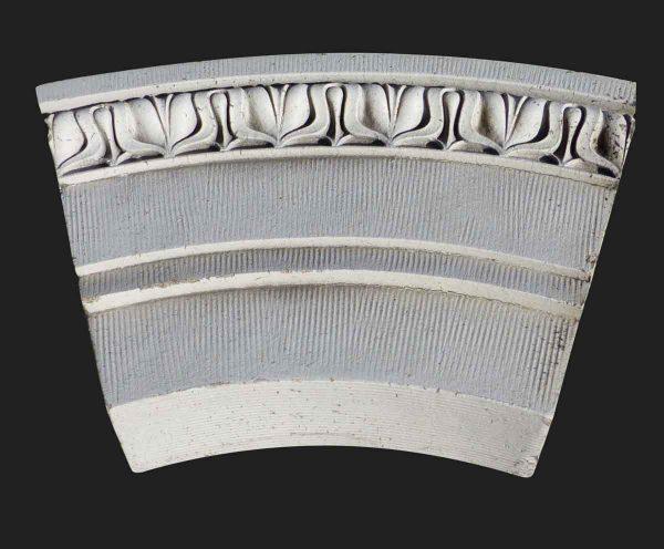 Stone & Terra Cotta - Reclaimed Curved NYC Terra Cotta Trim Stone