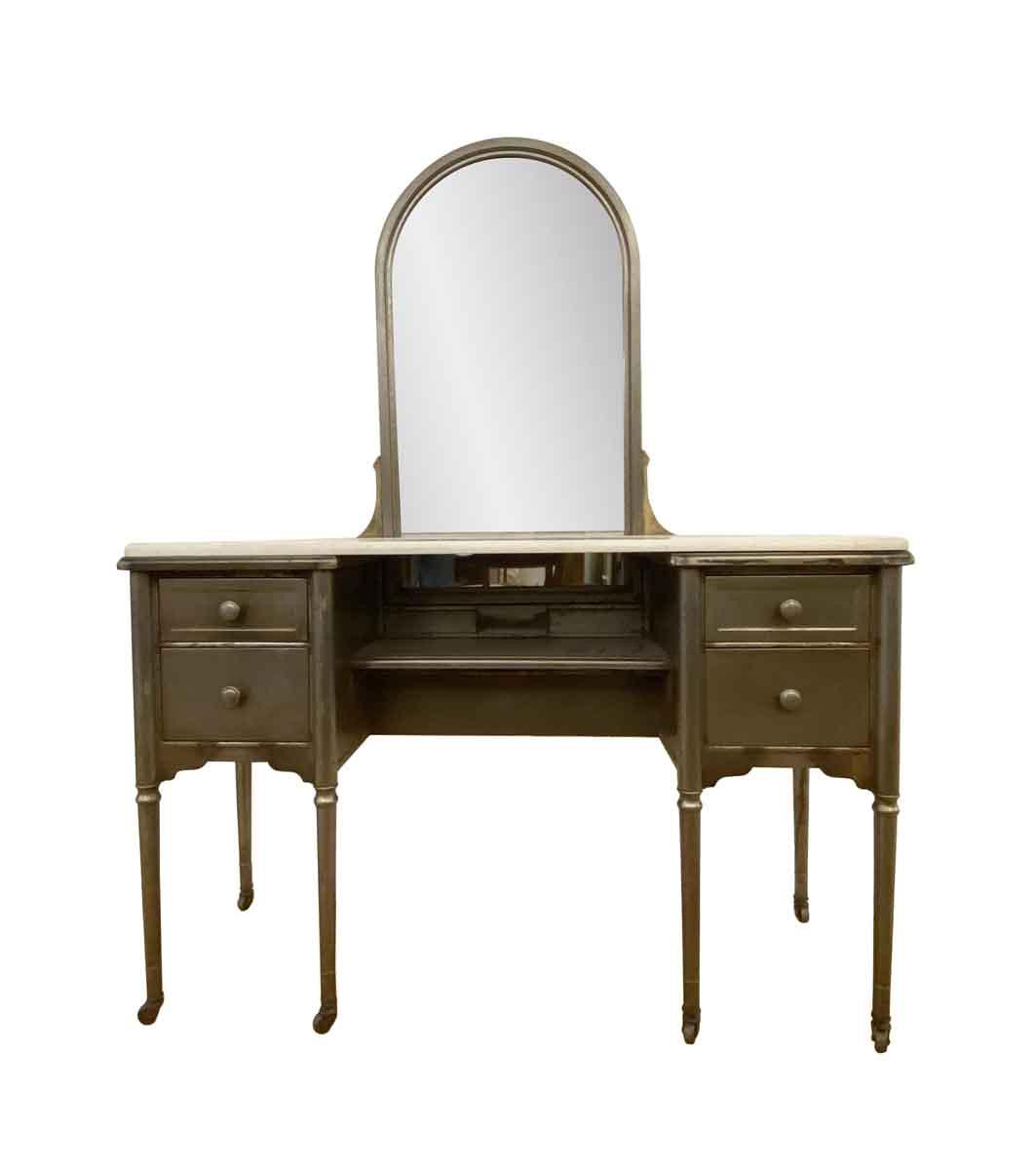 Antique 1920s Restored Steel Vanity Olde Good Things