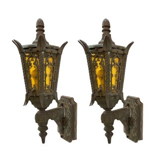 Vintage Exterior Lighting Olde Good Things
