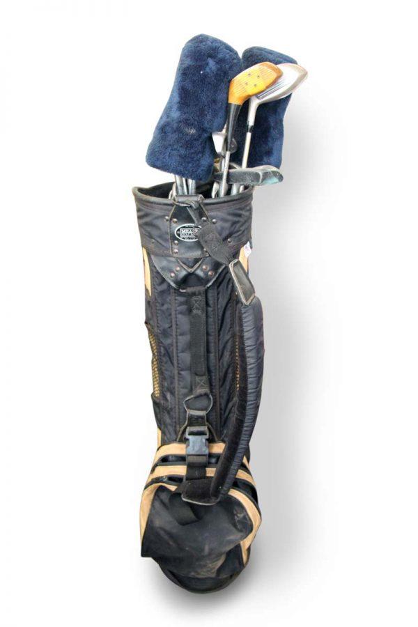 Flea Market - Vintage Miller Golf Bag & Golf Club Set