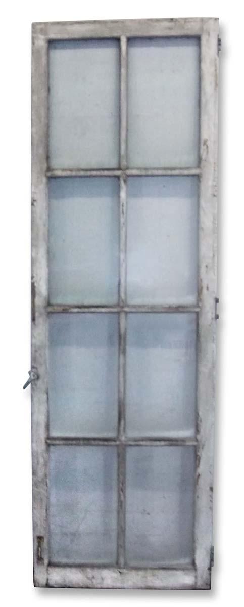 French Doors - Antique 8 Lite Wood French Door 84.5 x 27