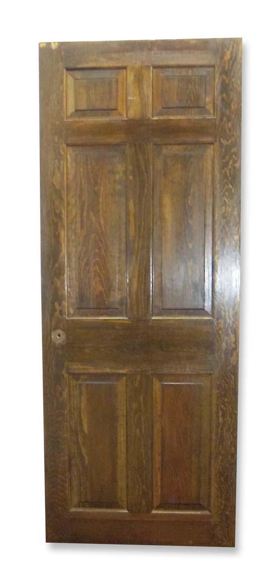 Standard Doors - Vintage 6 Pane Wood Passage Door 82.25 x 32